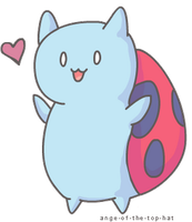 GIF: Catbug by ange-of-the-top-hat