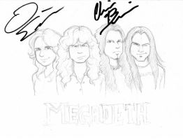MEGADETH OMFG by zombiepencil