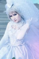 Kaya: J-Rock bride cos by palecardinal