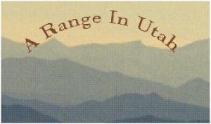 A Range In Utah Super Cropped With Text by Taojoe