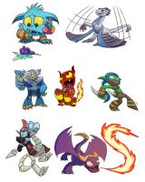 skylanders by enolianslave