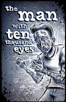 The Man with Ten Thousand Eyes (cover page) by sonburnt777