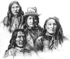 Native Chiefs Composition by Walkabout69