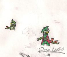 The Grass Dragon by abdiel13
