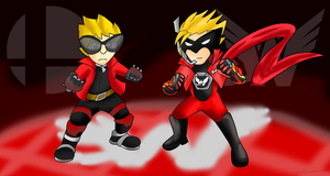 Man VS Mii: Wonder-Red by Xero-J