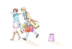Shopping day with France! by Yudanaelle