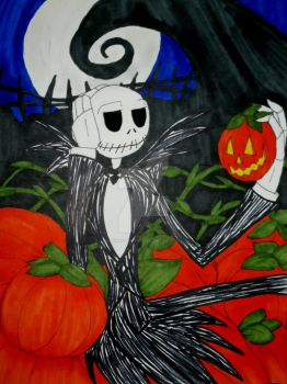 Pumpkin King by InkArtWriter