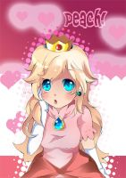 Princess Peach by Gla55Angel