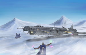 Royal Air Force Heavy Fighter, Barchetta III by Waffle0708