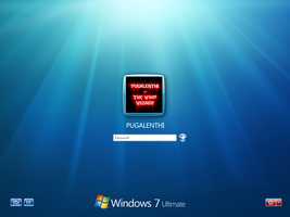 Windows 7 Login Screen by pugalenthi