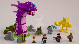 League of Legends of Lego - Final concept - 01 by Adddam