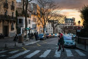 Ice Cream in Montmartre by niklin1