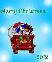 Merry Christmas 2012 :sonadow: by roxiuuu