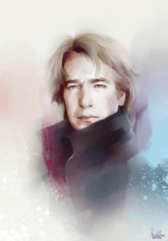 Alan Rickman by MarinaMichkina