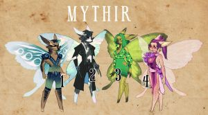 Gemstone Mythir Adoptables (OPEN) by killaminjaro