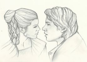 Happy Valentines Han and Leia by RavensWritingDesk