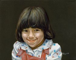 Portrait of a Girl 1 by hank1