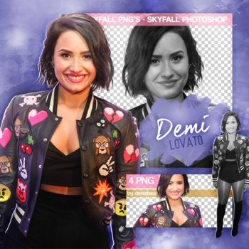 PNG PACK (185) Demi Lovato by DenizBas