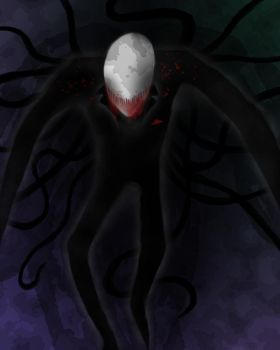 Smile of the Slenderman by SmellGibson