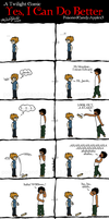 Breaking Dawn: Comic Strip: I Can Do Better by OdieFarber
