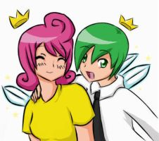 Collab - Cosmo and Wanda by ToniBolonie