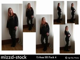 Urban Series III Pack 4 by mizzd-stock