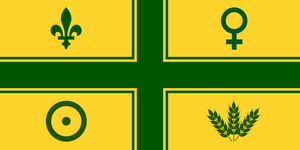 Alt Flag - Abitibi-Temiscamingue - Option 01 by AlienSquid