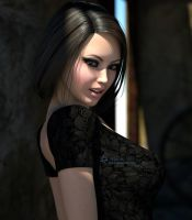 EchoBlackDress2 by Eclesi4stiK