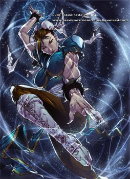 CHUN-LI from Street Fighter colored by marvelmania