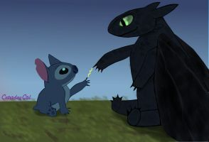 Toothless-stitch by CaterdayGirl