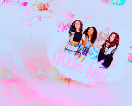 Wall Little Mix. by florenn
