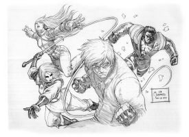 King Of Fighters - K's Team by werder