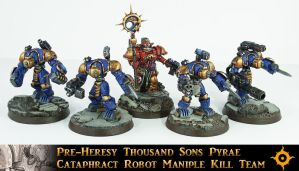 PH Cataphract Robot Kill Team by Proiteus