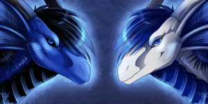 Icon Comish - Blue Friend by TwilightSaint