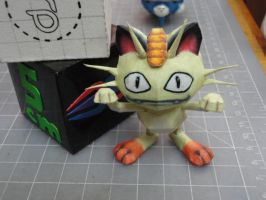 Meowth Papercraft by BRSpidey