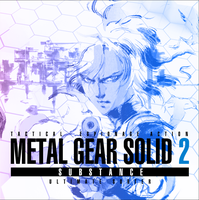 MGS2: Substance OST CD Cover 2 by jrossiter13