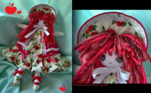 Apple Bunka Doll by bezzalair