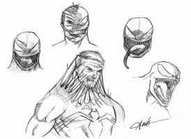 Venom Sketches by andisilva