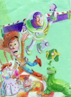 Toy Story by Solutionist