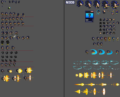 Sprite sheet big update by xXDaBoss99Xx