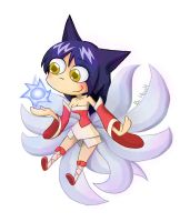 LOL: Ahri by phsueh