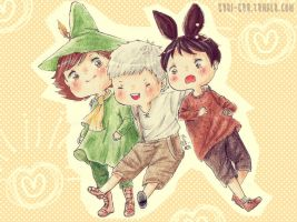 MOOMIN - Thank you! by Kuri-kuu