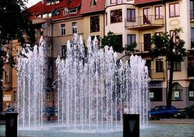 Fountain in my city by starskq