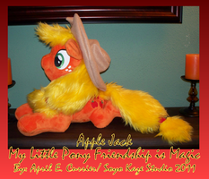 Soft Apple jack plush by Soyo-Kaze-Studio
