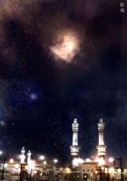 Al Haram Matte Painting by studioedelyn
