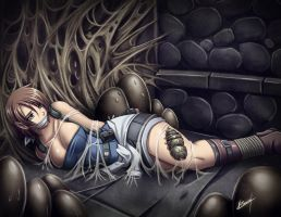 Jill trapped by Karosu-Maker