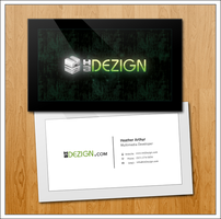 Personal Business Card by HArthur35