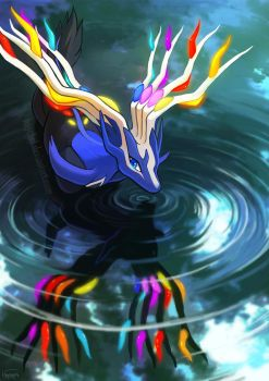 Xerneas by Haychel