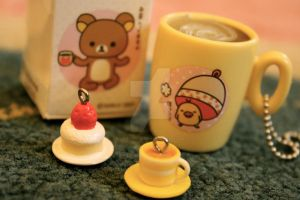 Rilakkuma Cups by ChuPhotography