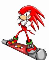 Knuckles Final in SAB by RaianOnzika